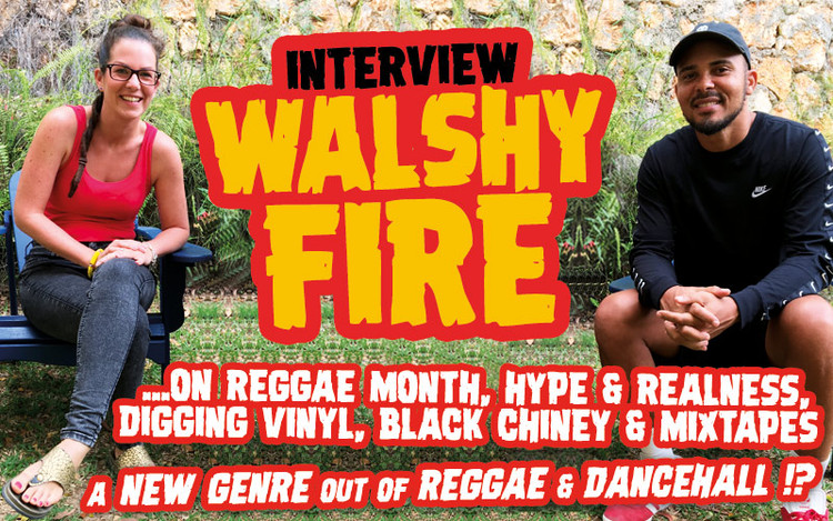 Video-Interview: Walshy Fire on Hype & Realness, Digging Vinyl, Black Chiney & Mixtapes