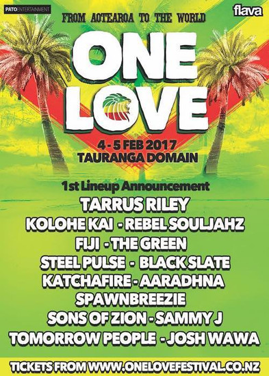 One Love Festival NZ 2017