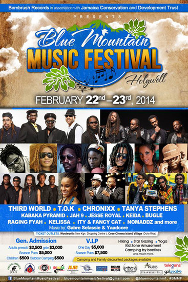 Blue Mountain Music Festival 2014