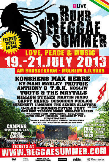 Ruhr Reggae Summer 2013
