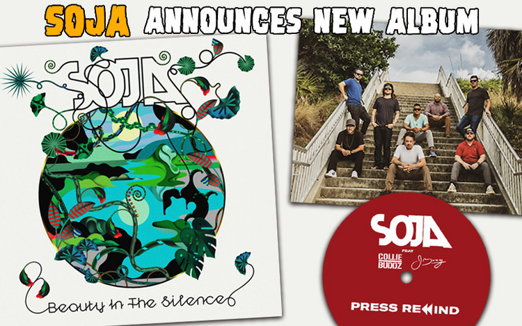 Beauty In The Silence - SOJA Announces New Album