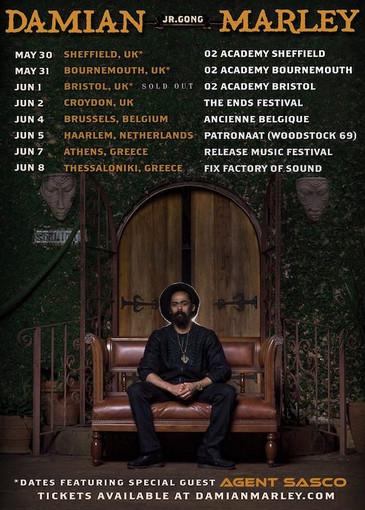 Damian Marley 5-31-2019
