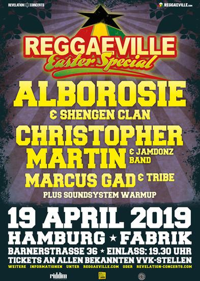 Reggaeville Easter Special - Hamburg 2019
