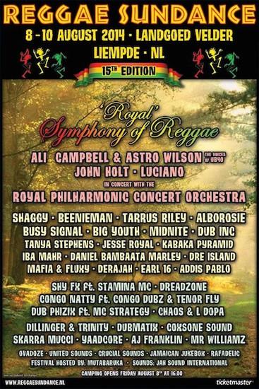 Reggae Sundance 2014