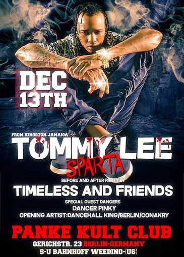 Tommy Lee Sparta 12-13-2018