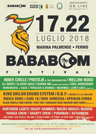 Bababoom Festival 2018