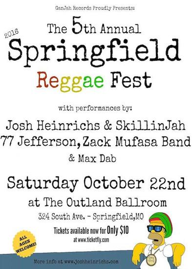 Springfield Reggae Fest 2016