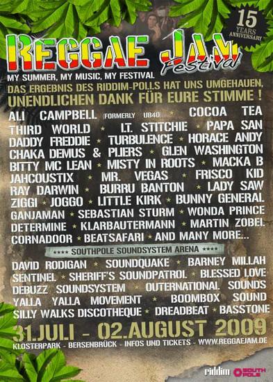 Reggae Jam 2009