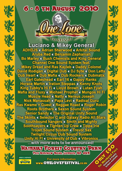 One Love Festival 2010