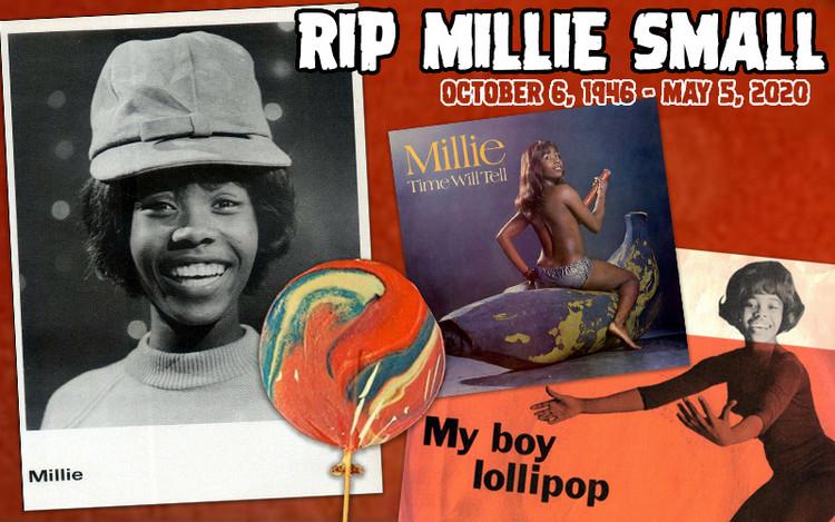 RIP Millie Small - My Boy Lollipop Singer Dies Aged 73