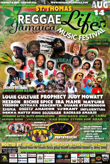 Reggae Life Jamaica Festival 2016