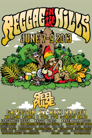 Reggae In The Hills 2013