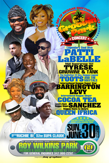 Groovin In The Park 2013