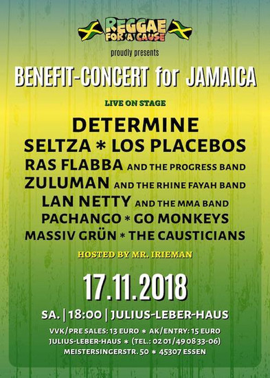 Reggae For A Cause 2018