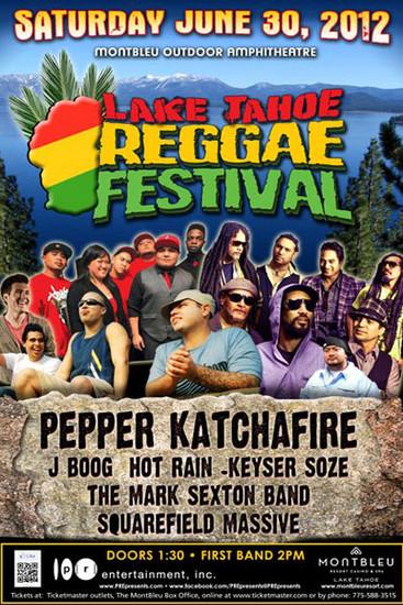 Lake Tahoe Reggae Festival 2012