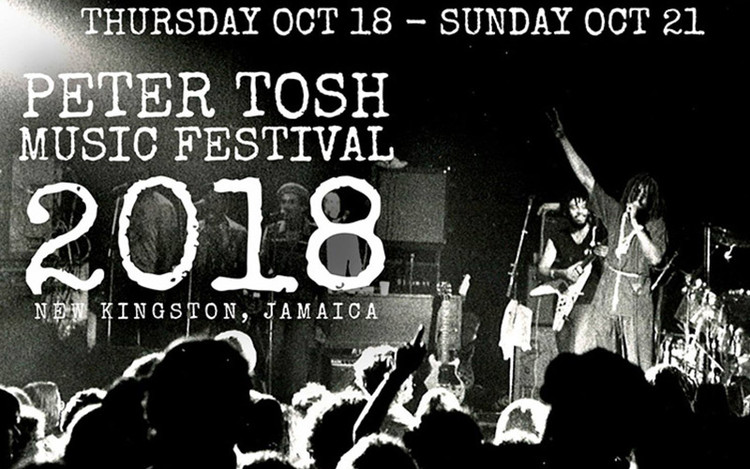 Peter Tosh Music Festival 2018 - Schedule of Events