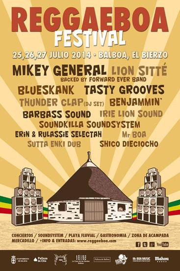 Reggaeboa Festival 2014