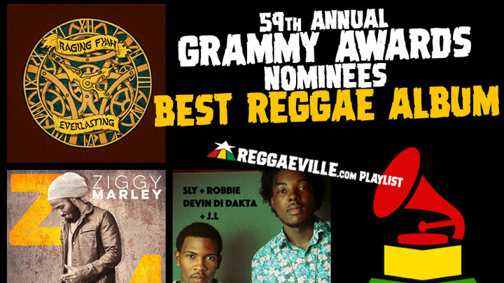 Grammy Awards - Best Reggae Album 2016 (Spotify Playlist) [12/19/2016]