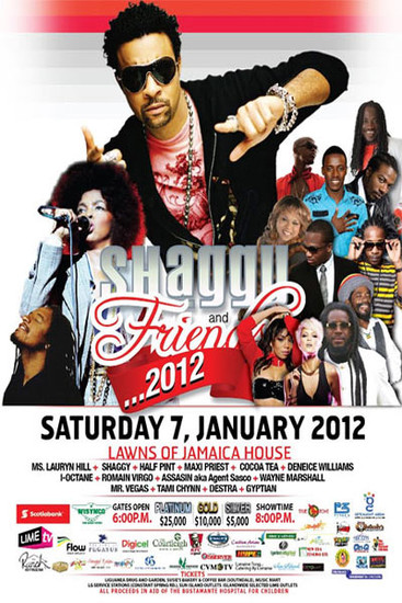Shaggy & Friends 2012