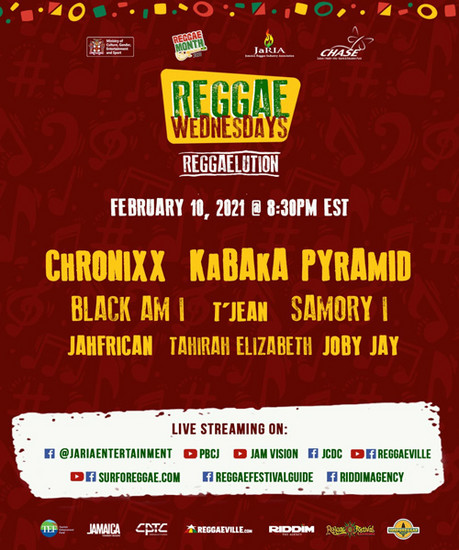 Reggae Wednesdays - Reggaelution 2021