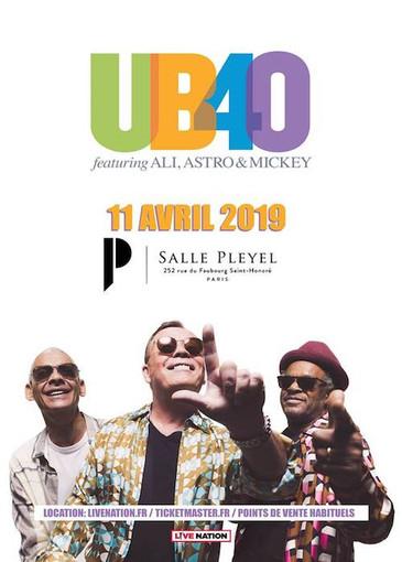 UB40 feat. Ali, Astro & Mickey 4-11-2019