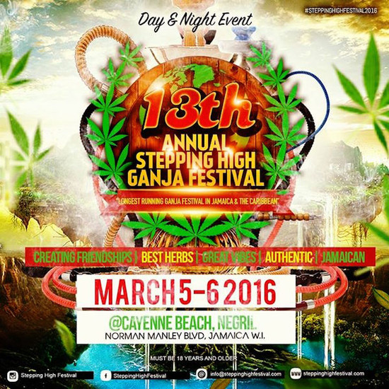 Stepping High Ganja Festival 2016