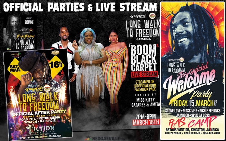 Buju Banton in Jamaica 2019 - Official Parties & Live Stream