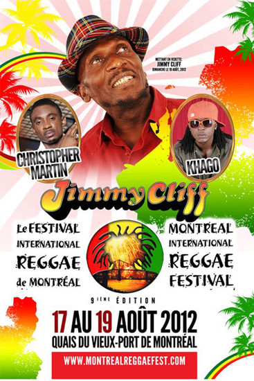 Montreal Reggae Festival 2012