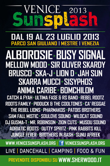 Venice Sunsplash 2013