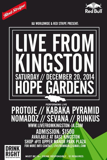 Live From Kingston 2014