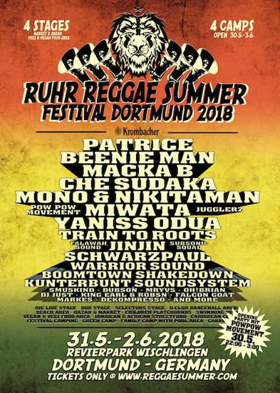 Ruhr Reggae Summer - Dortmund 2018