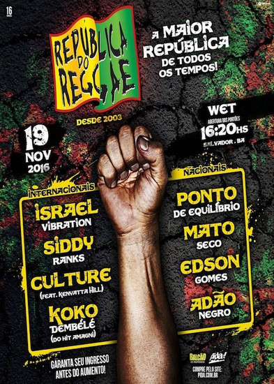 Republica Do Reggae 2016