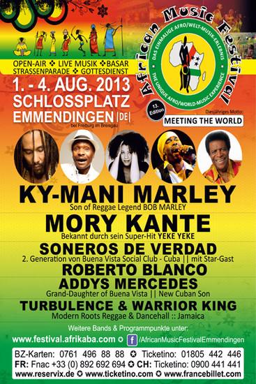 African Music Festival 2013