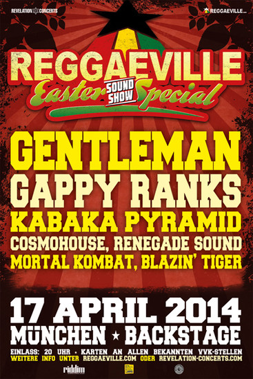Reggaeville Easter Sound Special - Munich 2014
