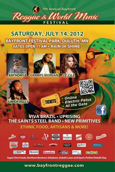 Bayfront Reggae & World Music Festival 2012