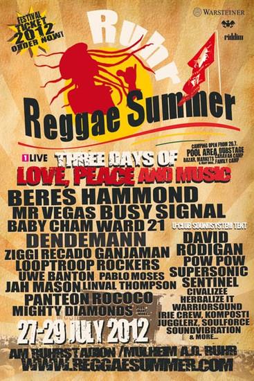 Ruhr Reggae Summer 2012