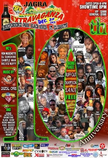 Christmas Reggae Extravaganza 2009