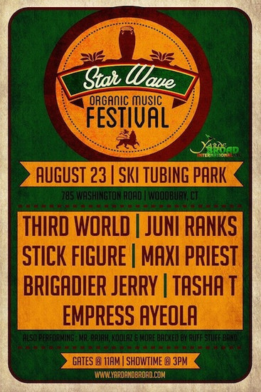 CANCELLED: Star Wave Organic Music Festival 2014