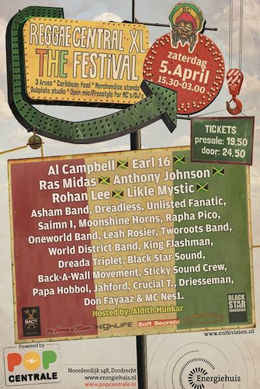 Reggae Central 2014