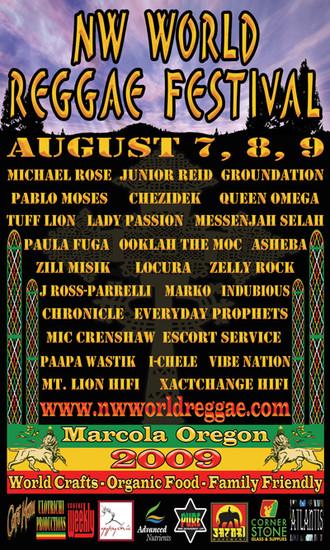 NW World Reggae Festival 2009