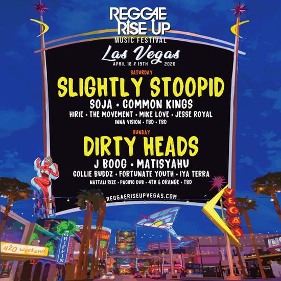 POSTPONED: Reggae Rise Up - Las Vegas 2020