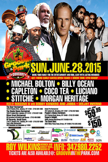 Groovin In The Park 2015