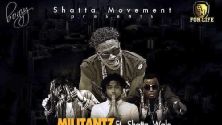 Militantz feat. Shatta Wale - Matter [3/26/2018]