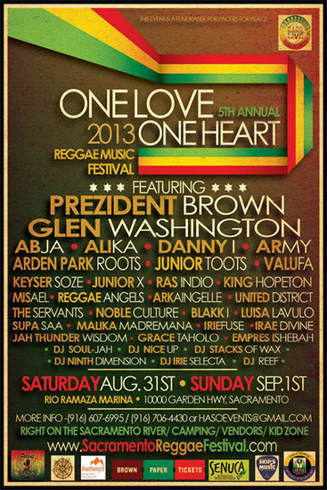 One Love One Heart 2013