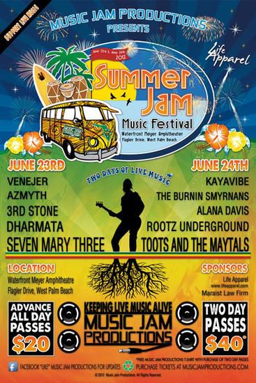 Summer Jam Music Festival 2012