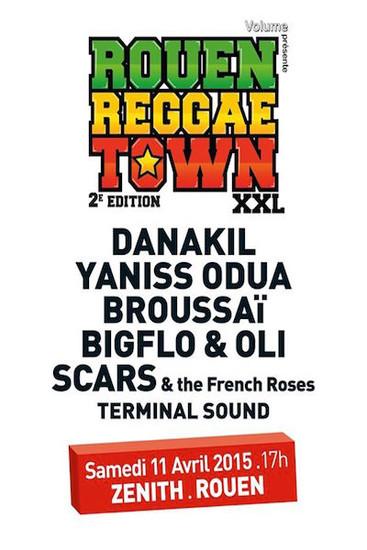 Rouen Reggae Town XXL 2015