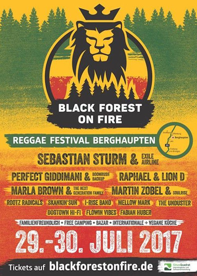 Black Forest On Fire 2017