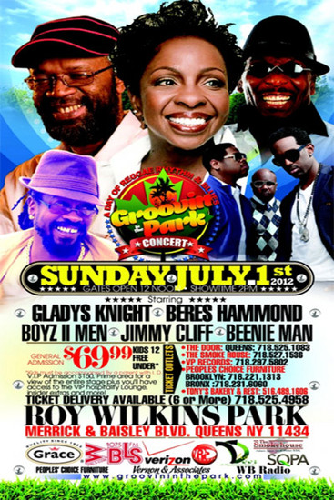Groovin In The Park 2012