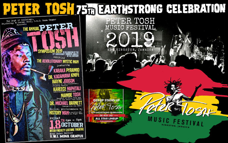 Peter Tosh - 75th Earthstrong Celebration in Jamaica 2019
