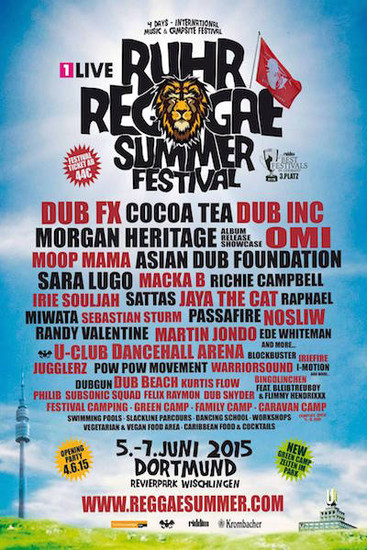 Ruhr Reggae Summer - Dortmund 2015